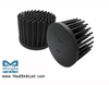 GooLED-BRI-11080 Pin Fin Heat Sink Φ110mm for Bridgelux