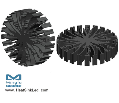 EtraLED-SHA-9620 for Sharp Modular Passive LED Cooler Φ96mm