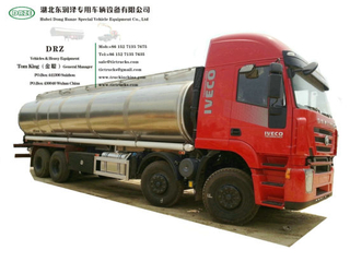 Iveco Genlyon 8X4 Aluminum Fuel Tank Truck (2 Compartments 27 - 30 CBM 12 Wheels)