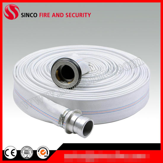 All Diameter and Working Pressure PVC Lining Canvas Fire Hose