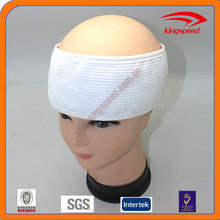 Dry and cool wearing concise waffle spa headband