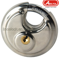 Padlock, Disc Padlock/Stainless Steel Dimple Key Disc Padlock (203)
