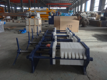 1-2 Cubic Meter Jack Clip Filter Press