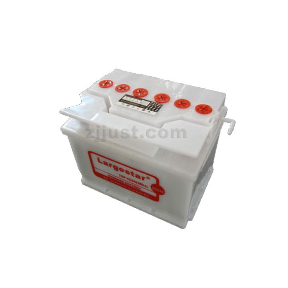 DIN45 12V 45Ah Dry-charged Battery