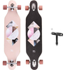 Merkapa 41 Inch Drop-Through Longboard Skateboard Cruiser