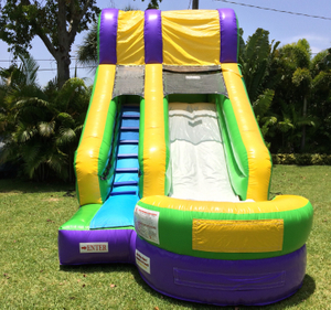 Commercial Inflatable Splash Water Slide for Kids And Adults