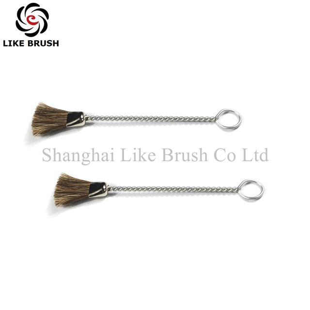 Horse Hair Bristle Music Instrument Cleaning Brushes