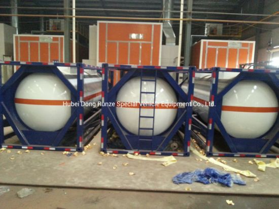 ISO Food Grade Tank Container Suitable for Milk and Other Dairy Products, Tallow and Chocolate, Chili Sauce