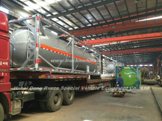 Ammonium Hydroxide ISO 20FT. 30FT. 40FT Tank Container For (Ammonium Hydroxide NH3. H2O, NH3 in water UN 2672)Dilute Ammonia Water(Household ammonia )Transport