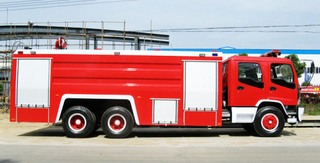Fvz 6X4 Double Cabin Isuzu 12000liter Water Tanker Fire Fighting Truck for Sale