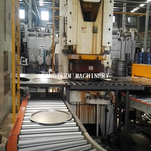 Steel drum Cover/bottom Blanking Machine