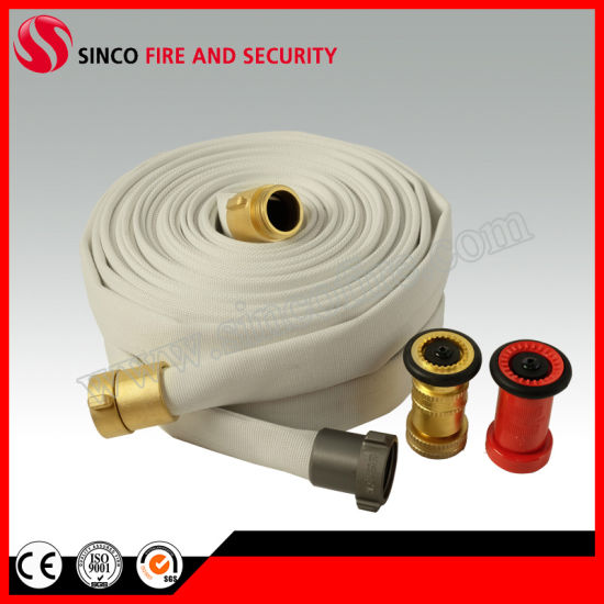 Fire Hose Canvas Cottons Hose with Coupling
