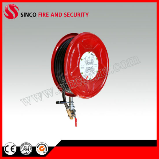 "1""X30m Rubber Hose Handle Australian Water Hose Reel"