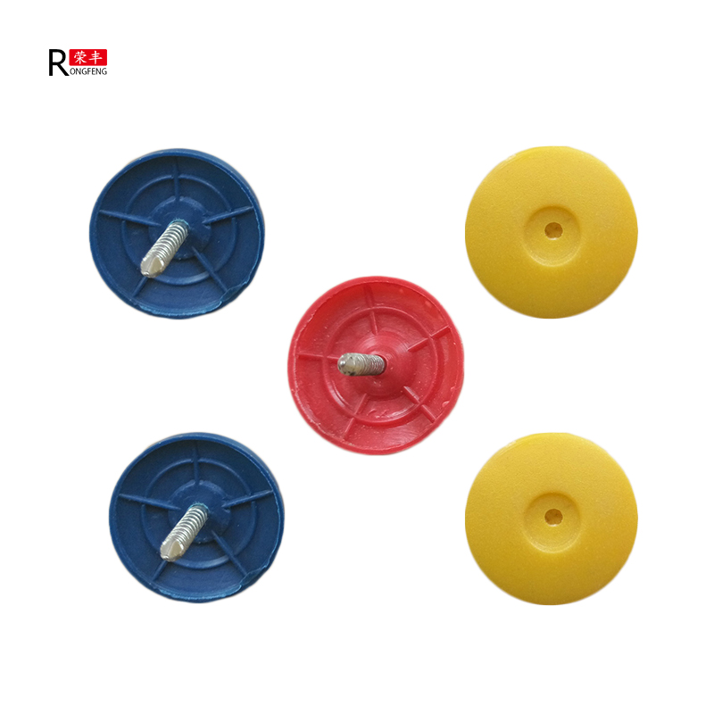 All-season performance plastic cap nails for fastening wall