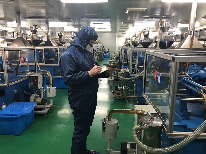 LVP Pharma factory from European made GMP audit