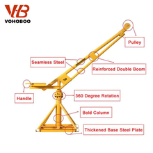 Mini Crane with Winch 360 Degree