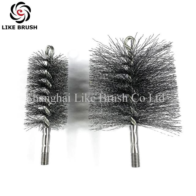 Round Wire Cheminey Brush Cleaning Chimney Pipes