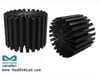 EtraLED-BRI-9680 for Bridgelux Modular Passive LED Cooler Φ96mm