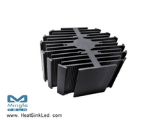 eLED-SHA-9550 Sharp Modular Passive Star LED Heat Sink Φ95mm