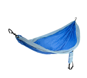 Traveler USA Wild Hiking ENO Hammock with Free Tree Strap and Carabiners