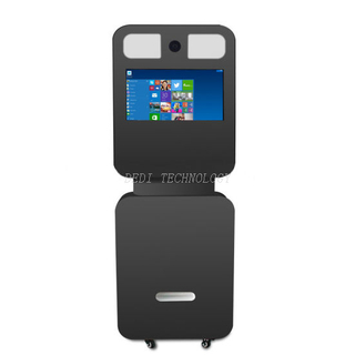 21.5 Inch Indoor LCD Photobooth in Capacitive Touch Screen Digital Signage