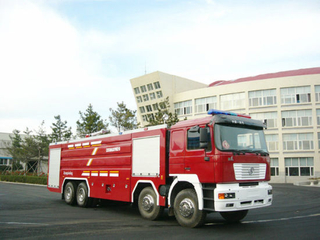 Shacman F2000 All Wheel Drive 8X4 Water Foame10+3 Tank Fire Truck