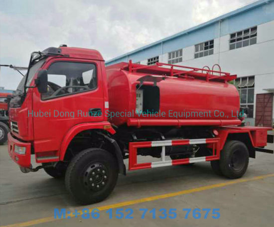 Dongfeng 4X4 Offroad Fuel Bowser for Express Refueling Fuel Diesel with Oil Tank 5000 Liters
