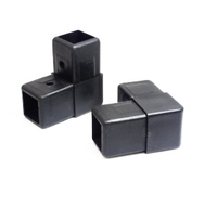 Square Tube Connectors for Plastic Pipe Fitting