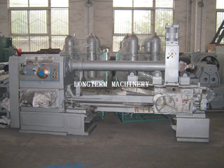 CNG cylinder bottom pressing machine