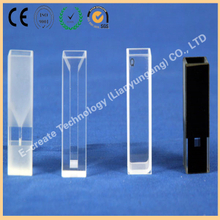 Quartz cuvette, quartz absorption cell, quartz sample cell