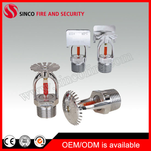 "Fire Sprinkler System 1/2"" or 3/4"" Glass Bulb Fire Sprinkler"