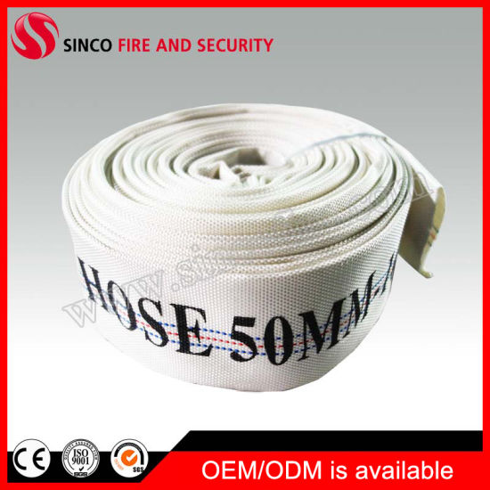 Fabric 2-10 Inch PU Lined Canvas Used Fire Fighting Hose Pipe