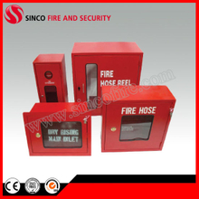 Red Fire Hose Reel Cabinets Fire Extinguisher Cabinet