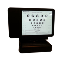 WH0905 number chart Near Vision Tester