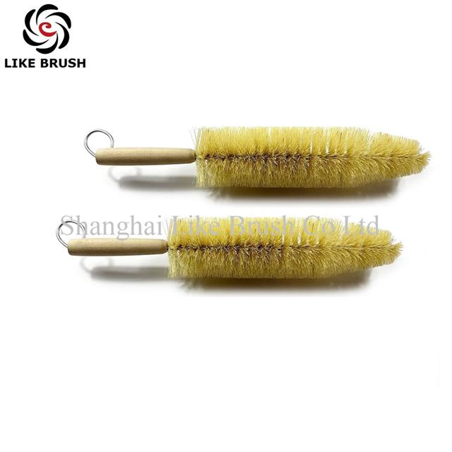Spoke Brushes for Cleaning Car Wheels