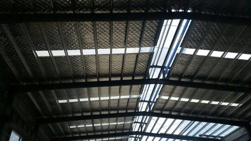 Roof of Steel Structure Prefab Warehouse with Office