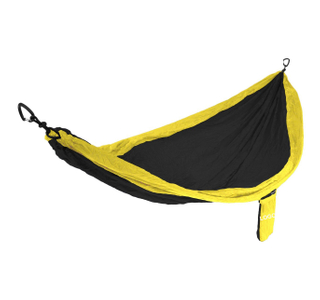Most Easiest USA Camp Hammock with Free Tree Strap and Carabiners