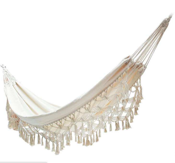 Popular 100% Cotton Poly Beach Hammock