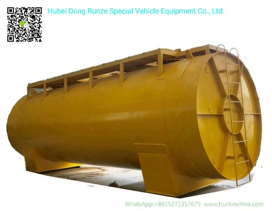 Hydrochloric Acid Storage Tank for Oilfield Chemical Liquid 60cbm HCl