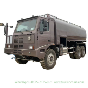 HOWO Mining Anti Dust Water Tanker Truck 35- 40m3 (Offroad Water Bowser with Fire Pump Water Fire Cannon)