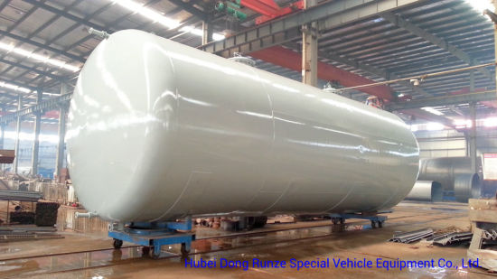 Horizontal Fuel Storage Tank for Petroleum Oil, Gasoline, Petrol, Diesel Steel Q235 or Q345. Q245. R20 Thinckness 5.6.8mm - 10.12mm Custermizing 1-100cbm
