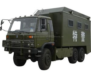 Military Mobile Kitchen All Wheel Drive 6X6 for Military Troops Field Cooking Fast Food