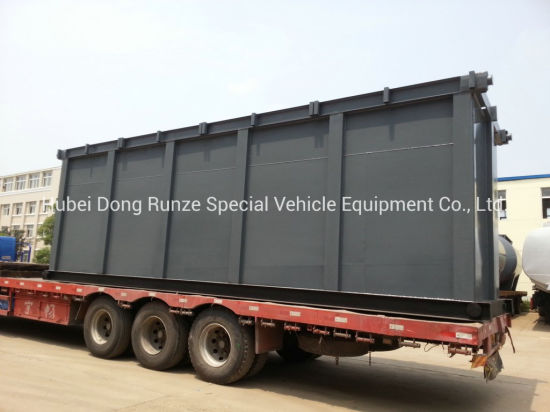 Skid Acid Storage Tank for Oil Fied Chemical Contain Hydrochloric Acid 60cbm 500bbl