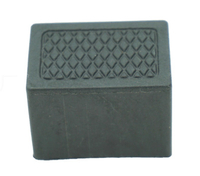 Rectangular Plastic Cap for Furniture Legs