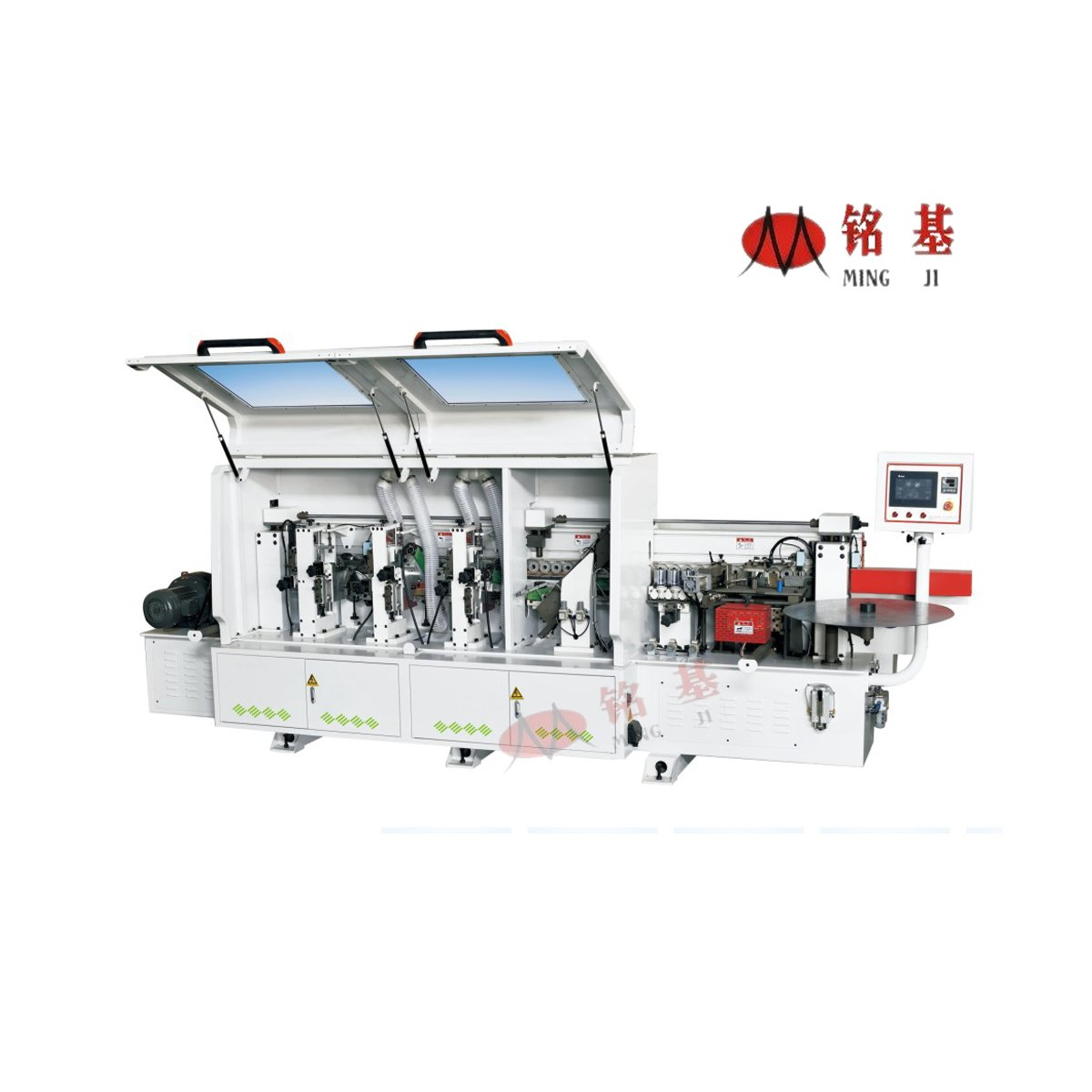 Foshan Mingji SBS-336B Automatic egde banding machine with 6 stations