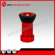 Red Plastic Spray Fire Hose Nozzle