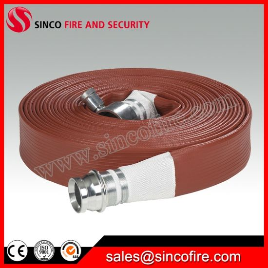 Fire Fighting Hose Fitted with John. Morris BS Hose Coupling
