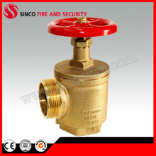 Female Inlet with Female/Male Outlet Fire Hose Angle Valve