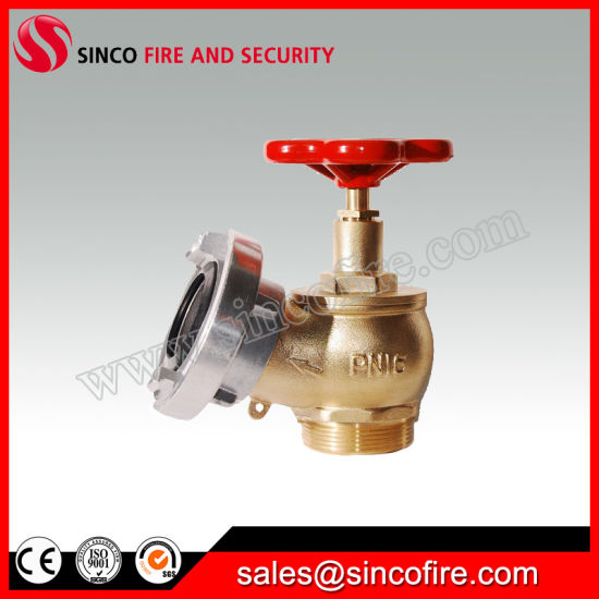 Bsp Fire Hydrant Landing Valve with Storz Coupling