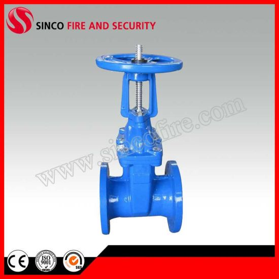 OS&Y Resilient Seated Rising Stem Gate Valve